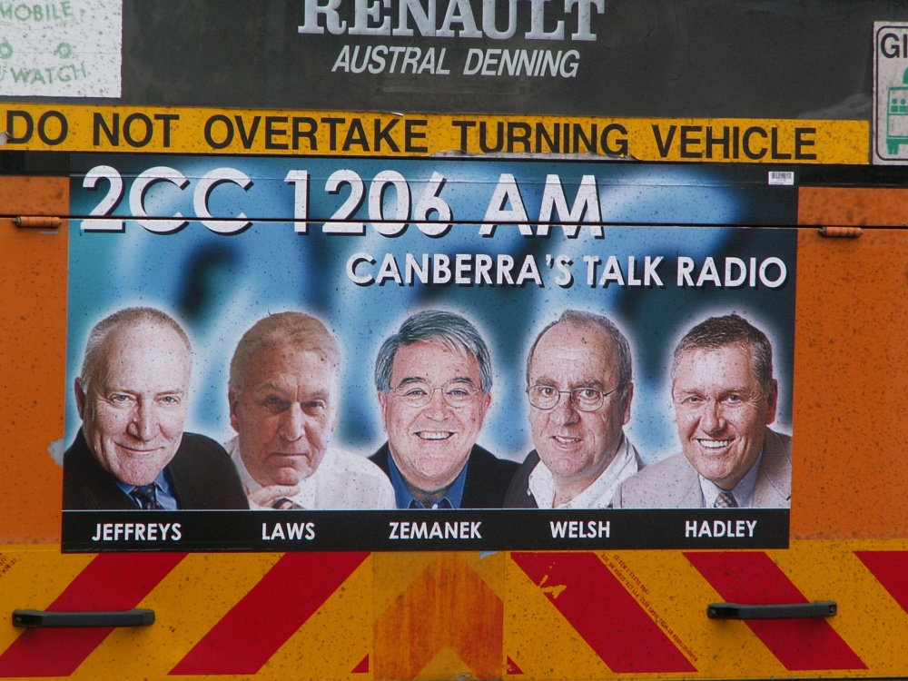 MY TEN YEARS AT OR NEAR THE BOTTOM OF TALK-BACK RADIO (1/3)