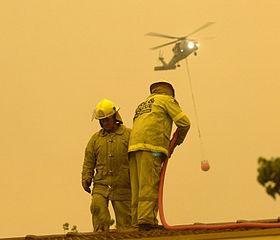 canberra firestorm