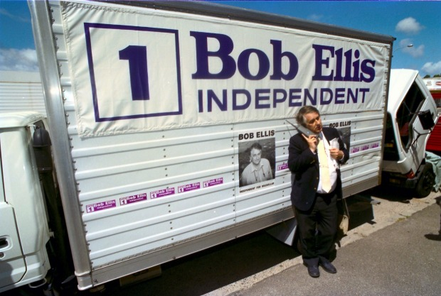 bob ellis election poster