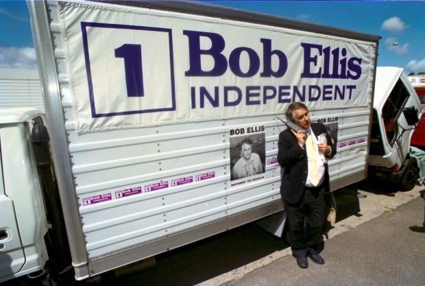 bob ellis election poster