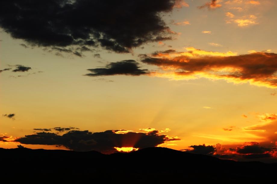 sunset april 22 x 2