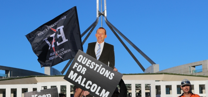 tony abbott questions